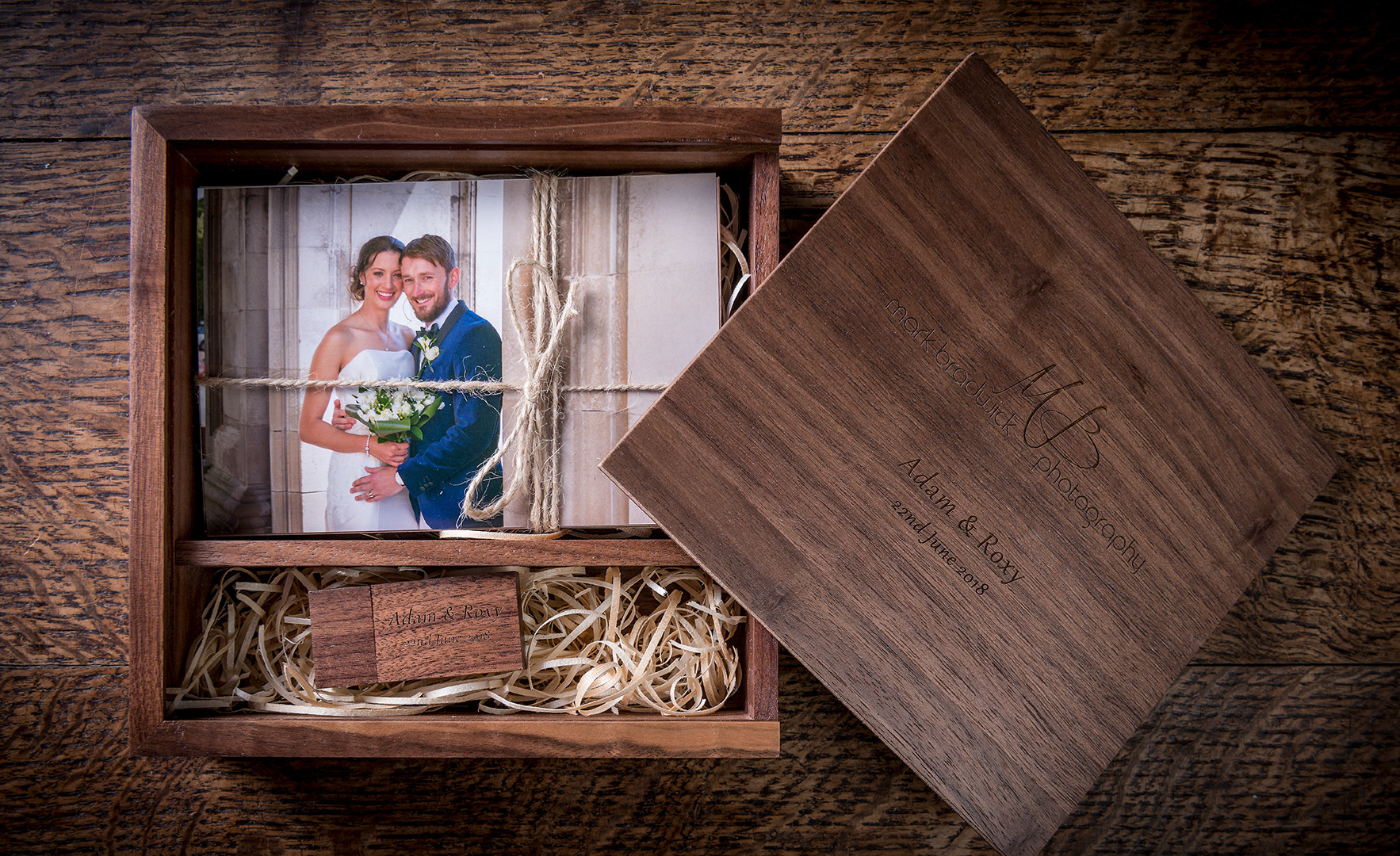 Presentation Box for Wedding Photography