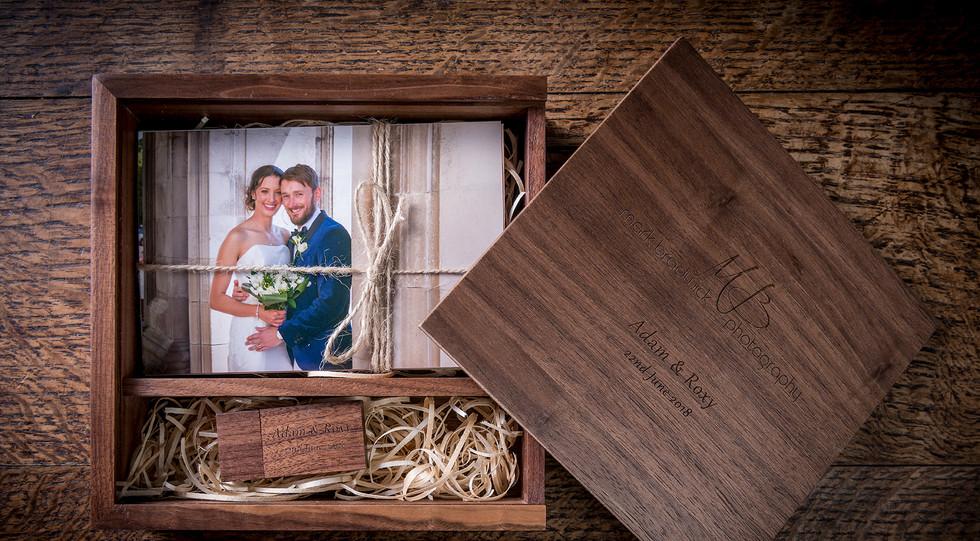Presentation Box for Wedding Photography