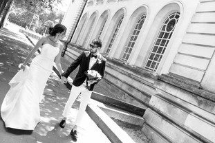 City Hall Bride & Groom