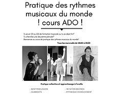 PUB Pratique des rythmes musicaux du mon