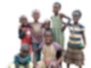 This is a photo of children from Gashora, Rwanda. The students from Western Washington Unversity were able to get to know a lot of these children living in East Africa.