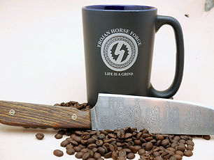 coffee cup for trojan merchandise photo.