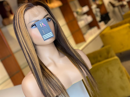 Higlighted Frontal Wig