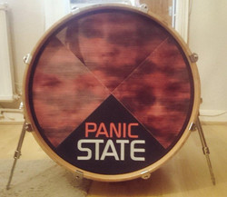 Panic State Custom Drumhead