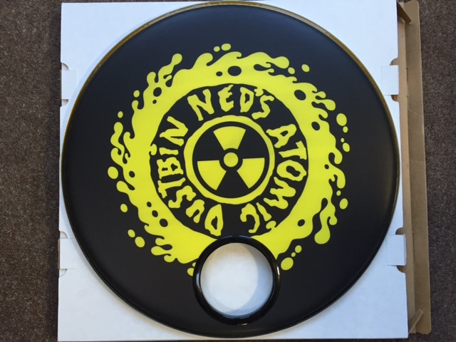 Ned's Atomic Dustbin Custom Drumhead