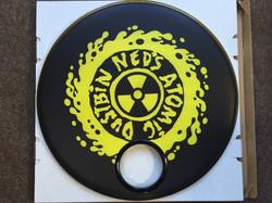 Ned's Atomic Dustbin Custom Drumhead