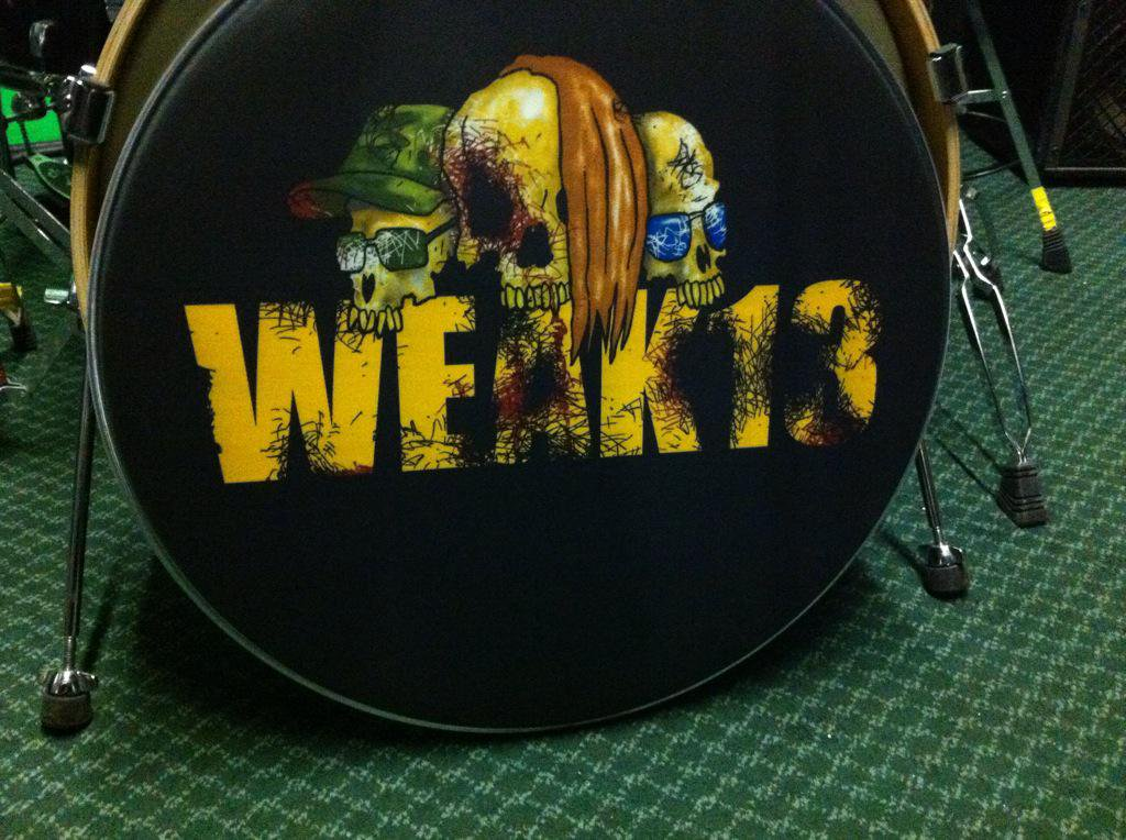 Weak 13 custom drumskin
