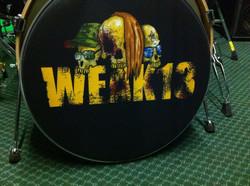 Weak 13 custom drumskin