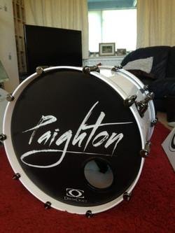Paignton custom drumhead