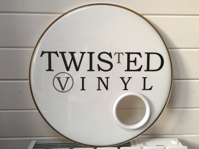 Twisted Vinyl Custom Drum head