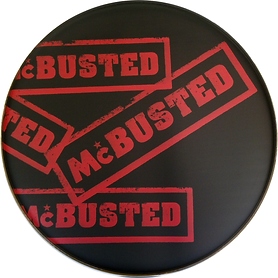 McBusted Custom Drum heads