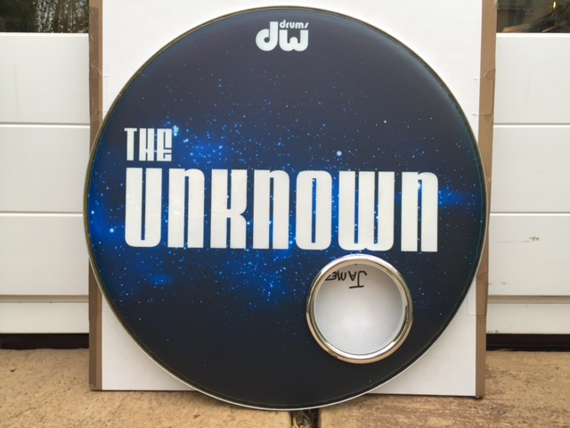 The Unknown Custom Drum Skin