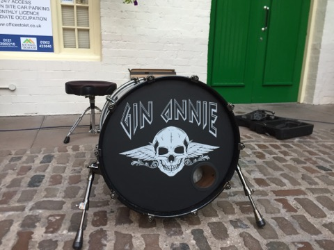Gin Annie Custom Drum Head