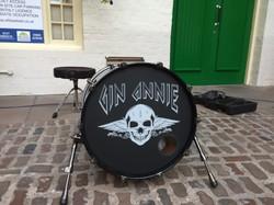 Gin Annie Custom Drum Head