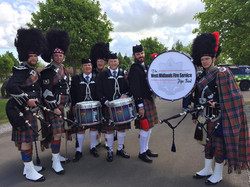 Marching band custom drum head