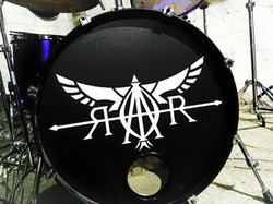 Custom drum skin