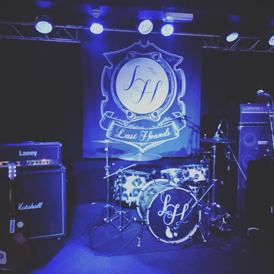 Banner and Drum custom drum heads