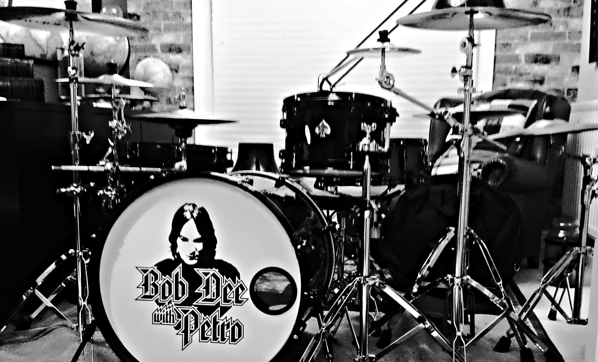 Custom Drum Skin for Bob Dee!