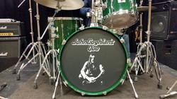 Quo custom drum head