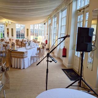 Wedding at Warwick House 2020