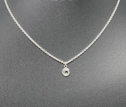 Spiral Choker Necklace