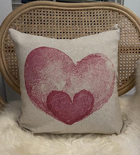 Double Love Pillow