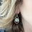 Thumbnail: Chalcedony Cage Earring