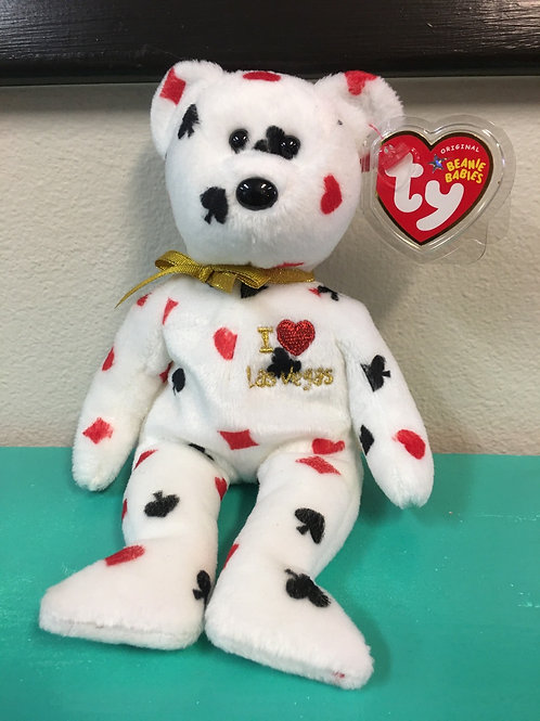 """Beanie Baby Collectable: """"Las Vegas"""" 2005 Ty Inc."""