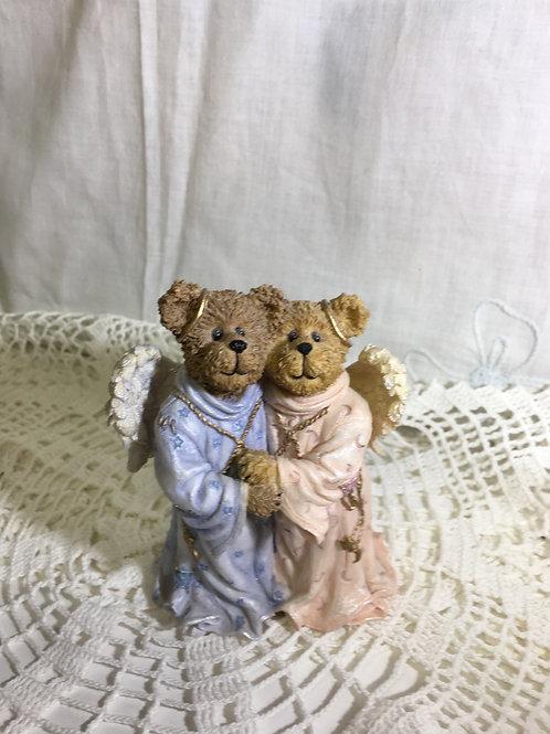 """Figurine: Boyds Bears & Friends '04 """"Always By Your Side"""" Heavenly Friends"""