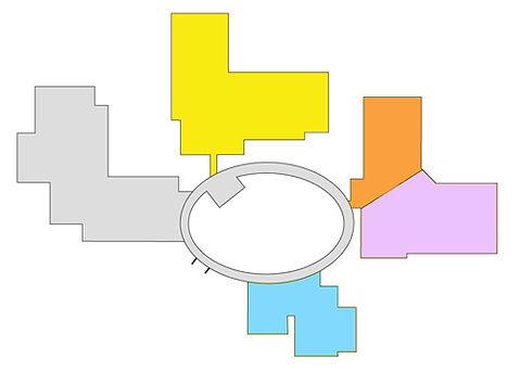 病院配置図2階