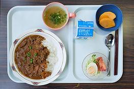 入院中の食事の写真