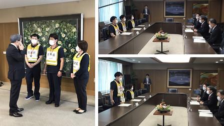 宮城県からの応援派遣要請に伴う職員派遣について