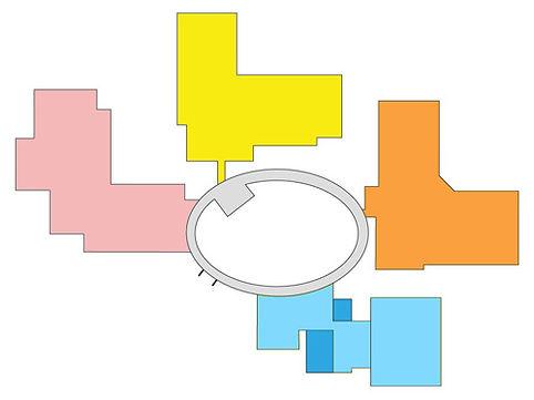 病院配置図1階