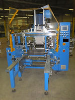 Ludwig Bruches Film and Foil Rewinder w/ outfeed Roller Conveyor, process, packaging, food, beverage, pharmaceutical, equipment, machinery, galick packaging