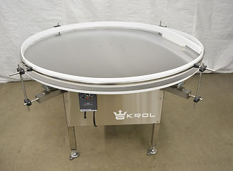 "60"" Krol Stainless Steel Rotary Turn Table"