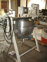 80 Gallon Toronto Coppersmith Stainless Steel Jacketed Kettle w/ Mixer, Toronto Coppersmith, Kettle, Tank, Cooking, Industrial, 80 Gallon, Process