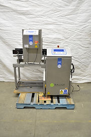 Loma AS1500 Checkweigher and IQ2 Metal Detector Combo Unit