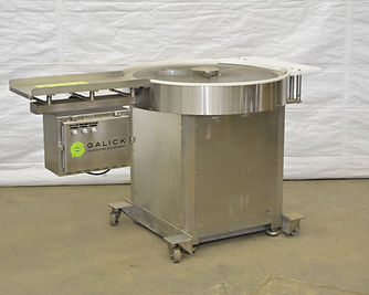 """36"""" Stainless Steel Rotary Accumulation Table / Turn Table"""