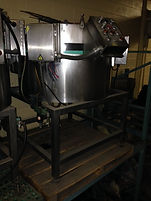 hoppmann stainless steel centrifugal feeder, sorter, food and beverage, process and packaging, equipment, machinery