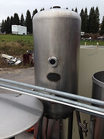200 Gallon Steriplak Stainless Steel Pressure Vessel