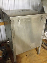 3 HP Blower with stainless steel enclosure and filter system