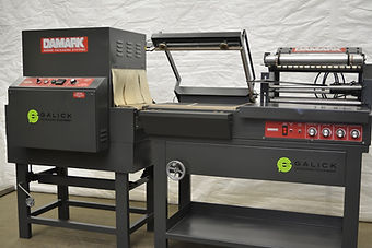 Damark SMC 1620 L-Bar Sealer, Damark, Damark Packaging Inc, Damark L-Bar Sealer, L-Bar Sealer, L Bar Sealer, L Sealer, Process, Packaging, Equipment, Machinery