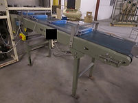"Key 18"" x 78"" Powered Incline Belt Conveyor w/ Glide Rails, conveyor, process, packaging, equipment, machinery"