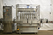 8 Valve Thomason In-Line Piston Filler, food, beverage, process, packaging, equipment, machinery