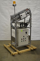A & E Conveyor Systems Co. Bottle Rinser w/ AB 900 AutoBalance PulseFlow Controller Integrated Ionization
