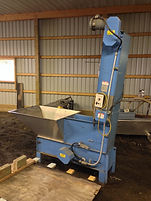 Anderson Machine Works Waterfall Slat Feeder Elevator Conveyor