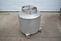 100 Gallon All-Weld Stainless Steel Transportable Vessel, Tank, Product Tank, Process, Packaging, Equipment, Machinery