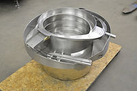 "15"" diameter sikora automation inc stainless steel vibratory feeder, bowl, sorter, cap sorter, cap feeder"