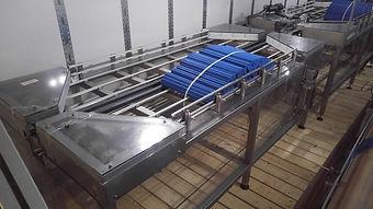 Inno-Tech Bi-Directional Accumulation Table / Mass Flow Conveyor