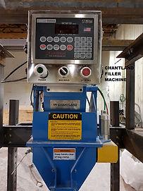 Chantland Weighscale Filler on Custom Stand